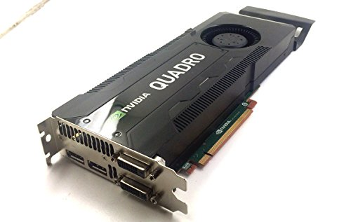 K5000 Graphic (Dell Nvidia Quadro K5000 4GB GDDR5 1536 CUDA Graphics Card RCFKT w/ Warranty)