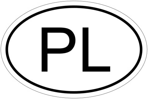 Kiwistar Polen Pl 10 X 6 6cm Autoaufkleber Sticker Aufkleber Kfz Flagge Auto