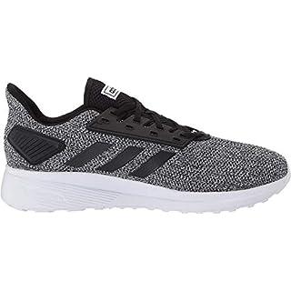 adidas Men's Duramo 9 Running Shoe, Core Black/Core Black/Footwear White, 8.5 M US