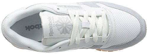 Reebok 16 CLASSIC Bianco LEATHER 17 Bianco SPLIT PERFECT IaqHwqYP