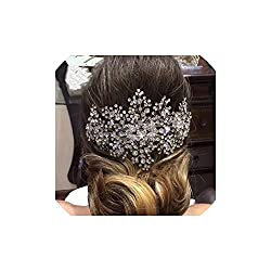 Handmade Bridal Crystal Headpiece