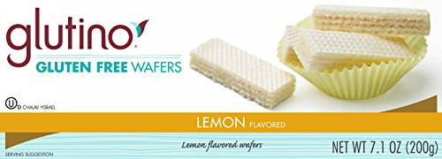Glutino, Gluten Free, Lemon Wafer Cookies, 7.1oz Box (Pack of 3)
