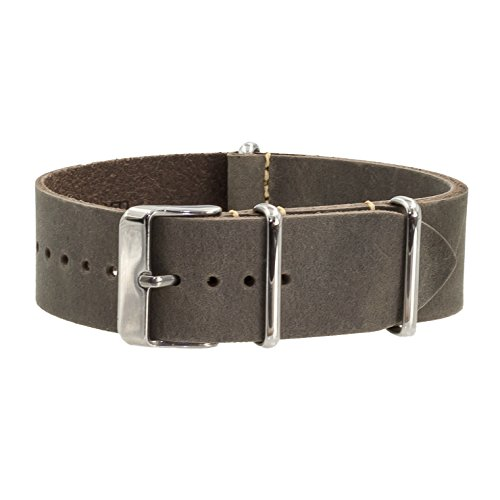Benchmark Straps Leather Watchband Available product image