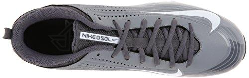 Nike De Vapeur 5 Voûte Crampon Blanc 2 Lumière Graphite Clé 7 Mens Taille M De Baseball rFAqnXrI