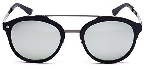 "PRIVÉ REVAUX ""The Producer"" Handcrafted Designer Polarized Round Sunglasses For Men & Women -"