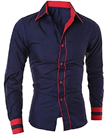 2bb8399b86 Camisa Social Masculina Premium Estilo Dubai  Amazon.com.br  Amazon Moda