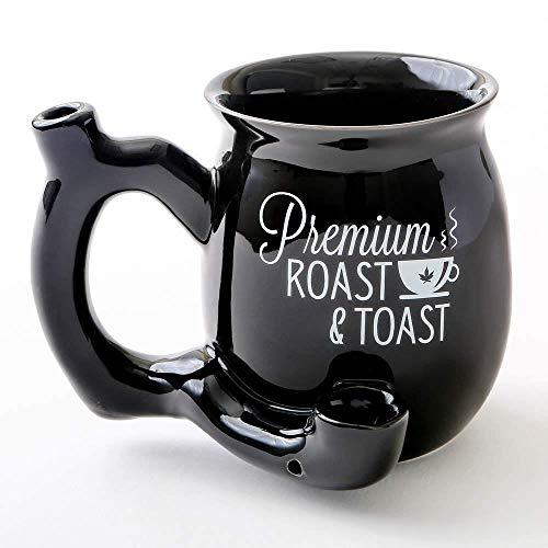 BLACK SMALL ROAST AND TOAST MUG 82373