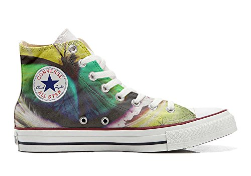 Converse All Star Customized - zapatos personalizados (Producto Artesano) Mariposa