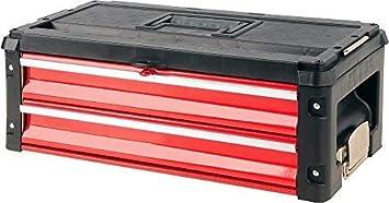 Yato YT-09107 caja de herramientas Metal Negro, Rojo - Cajas de ...