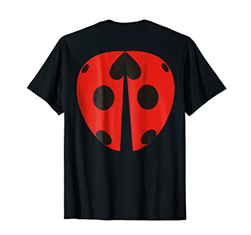 Ladybug Wings on Back Easy Costume T-Shirt for Kids & Adults