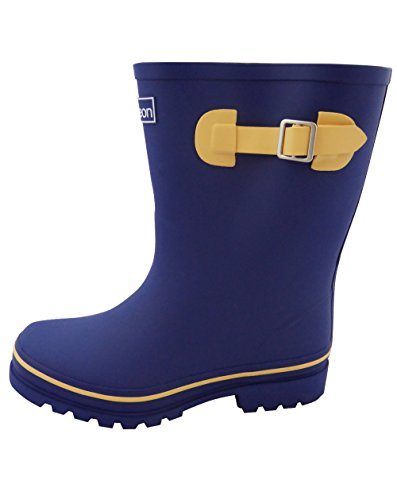 - Jileon Half Height Rain Boots for Women - Wide in The Foot and Ankle - Durable All Weather Boots