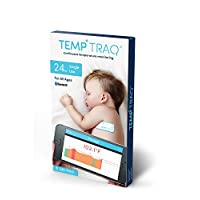 TempTraq Wearable Smart Thermometer – 24HR Continuous Fever Monitoring with M...