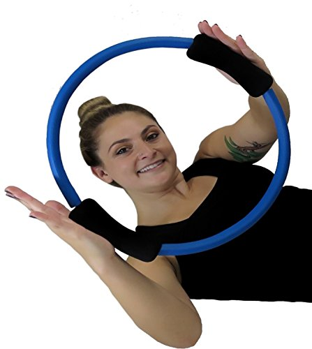 "SISYAMA Pilates Ring Toning Fitness Magic Circle 14"" Best Resistance"