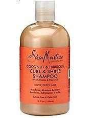 Shea Moisture ORGANIC Coconut & Hibicus Curl & Shine Shampoo