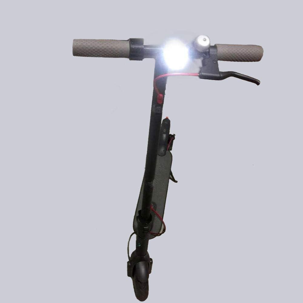 Gaoominy Lampara de Faro Luz Led Lampara Delantera Reemplazo para Mijia M365 Piezas de Scooter El/éctrico