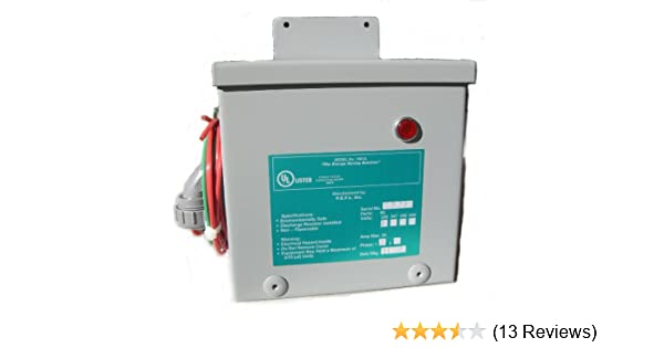 50 Amp KVAR Energy Saver Power Factor Correction Unit Home Surge Protector