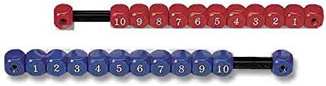 Lote marcadores contador futbolin rojo azul: Amazon.es: Deportes y ...