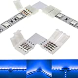 4-Pin RGB LED Light Strip Connectors 10mm Unwired