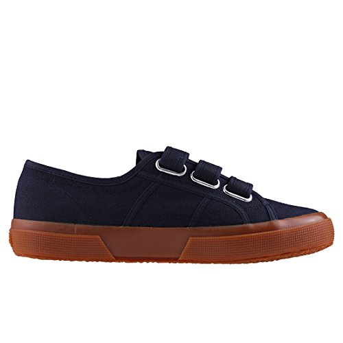 Superga 2750 3strap Mens Formateurs Navy Gum