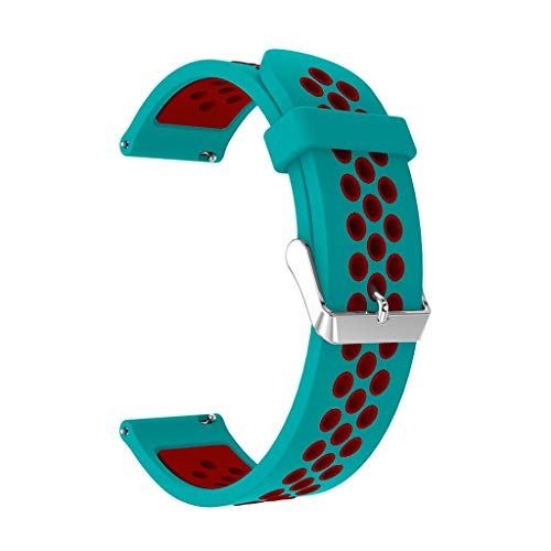 New!!! Cindero Sport Band is Compatible with Samsung Galaxy Watch, Soft Silicone Strap Replacement Wristband Compatible with Samsung Galaxy Watch Smart Fitness Watch