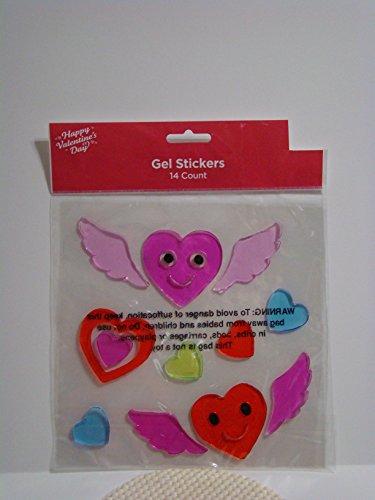Valentine Heart Birds Gel Stick .