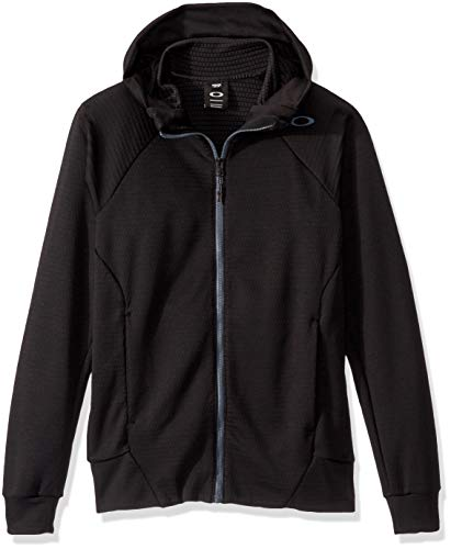 Oakley mens Enhance Tech Fleece Jacket Grid