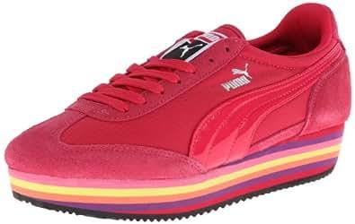 PUMA Women's SF77 Platform Fashion Sneaker,Virtual Pink,6.5 B US
