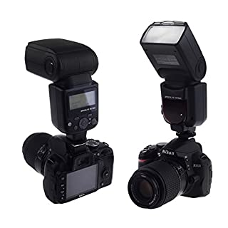 Neewer VK750 II i-TTL Speedlite Flash with LCD Display for Nikon Digital SLR Camera, Fits Nikon D7100 D7000 D5200 D5100 D5000 D3000 D3100 D300 D300S D700 D600 D90 D80 D70 D70S D60 D50 (B00GE4MNQA) | Amazon price tracker / tracking, Amazon price history charts, Amazon price watches, Amazon price drop alerts