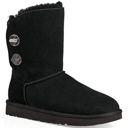 Black Ugg Short Turnlock Women's Boot UUTHzv