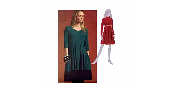 Amazon.com: Misses Pullover Dress McCalls 5924 Sewing Pattern Size 6 - 8 - 10 - 12 - 14: Arts, Crafts & Sewing