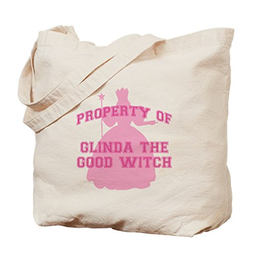 CafePress - Glinda The Good - Natural Canvas Tote Bag, Cloth Shopping Bag ()