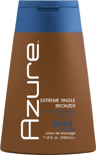 AZURE Extreme Tingle Bronzer, Tanning Bed Lotion
