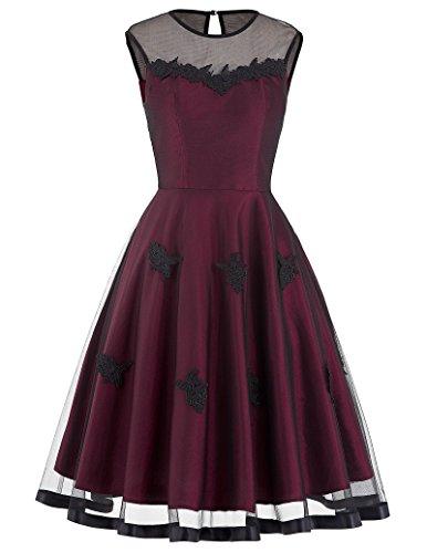 womens-knee-length-appliques-lace-vintage-dresses-large-bp112-1
