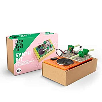 Tech Will Save Us, Synth Kit | Educational Music STEM Toy, Ages 13 and Up