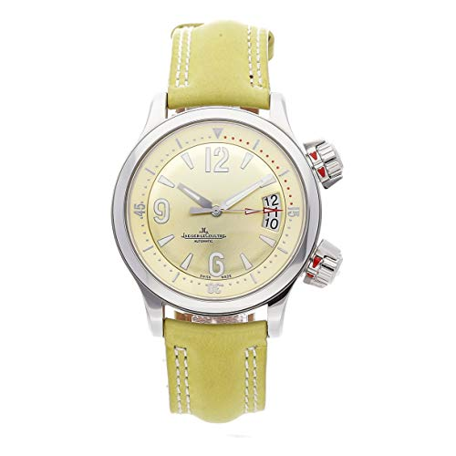 Jaeger-LeCoultre Master Compressor Mechanical (Automatic) Yellow Dial Mens Watch Q1728460 (Certified Pre-Owned)