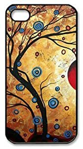 Abstract Art Tree DIY Hard Shell Black iPhone 6 plus 5.5 Case Perfect By Custom Service