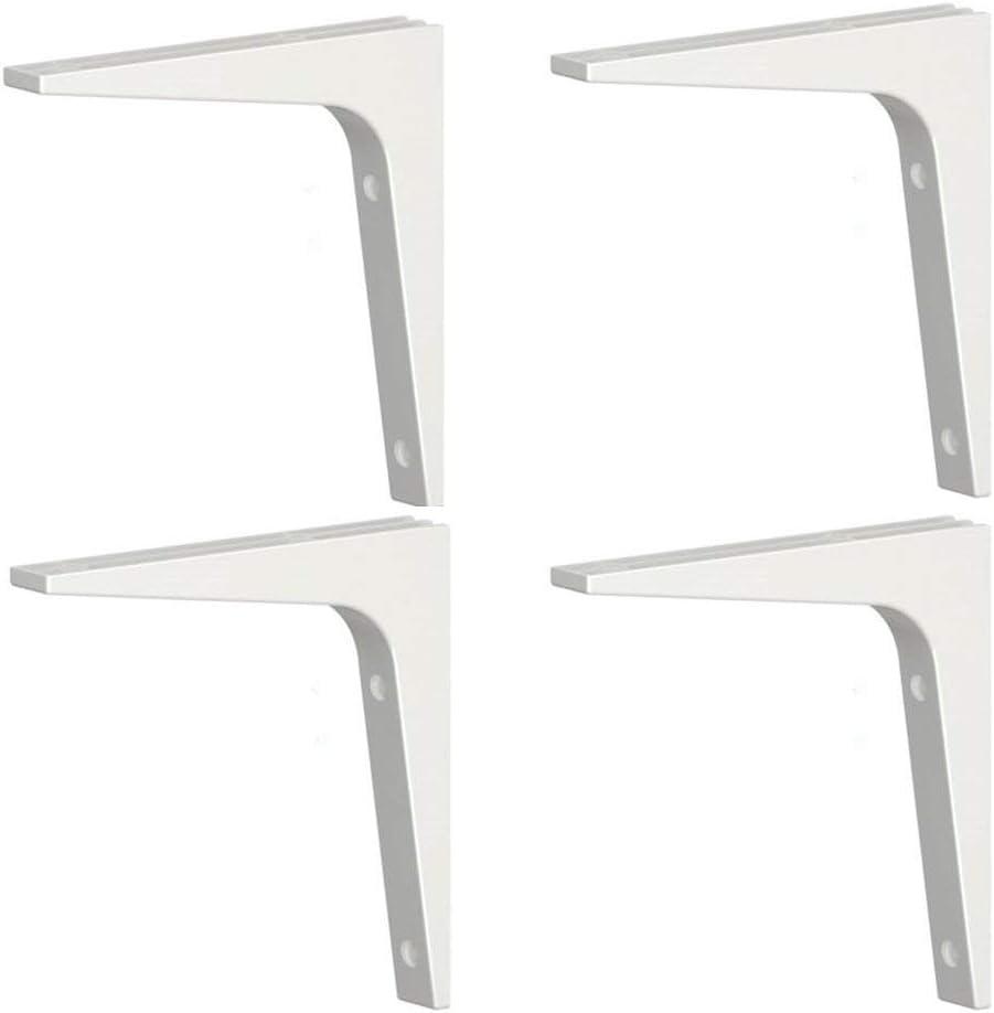 Ikea 2 X EKBY Stodis Shelf Bracket White 17x 17 Cm