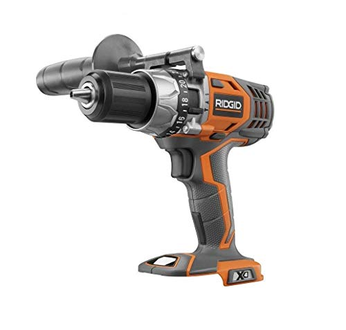 Ridgid 18V Li-Ion 1/2in VSR HAMMER Drill/driver X4 R8611501 Cordless, Keyless, Bare Tool Only, (Bulk Packaged)