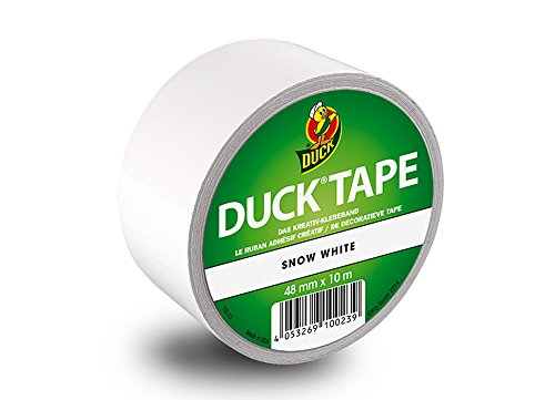 Snow White Duck Tape 48 MM x 10 M, White, 100–23