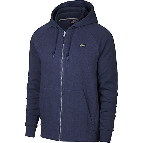 Navy Nike Nike Nike Midnight Midnight Navy Capuche midnight Zipp e Veste heather fXwfqA