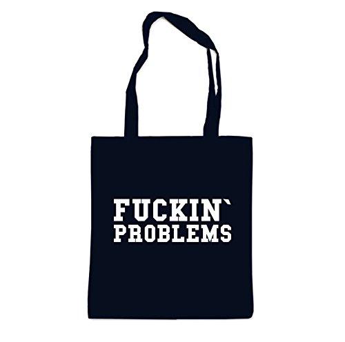 Fucking Problems Bag Black