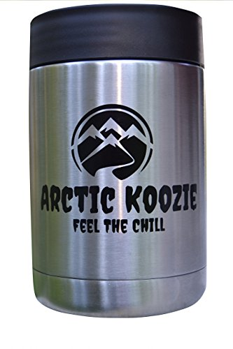Stainless Steel Double Wall Insulated Can Cooler For Keeping Your Beverage Of Choice Colder Longer Guaranteed Even Long As The More Expensive Can Coolers!
