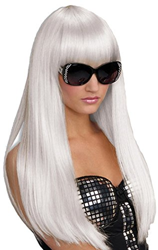 [White Hot Wig Costume Accessory] (Lotr Elves Costumes)