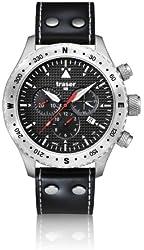 Traser Aviator Jungmann Chronograph Watch w/ Sapphire Crystal T5302.753.4P.11