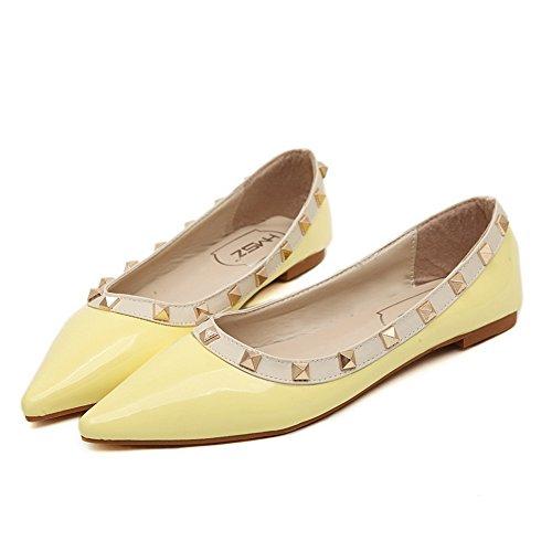 Amarillo Zapatillas AdeeSu Todo de para Tipo para Clima Mujer de uretano cómodas r1prP