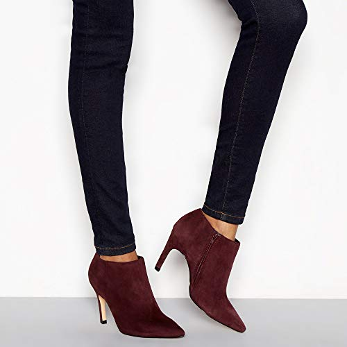 'Janana' Heel J by Stiletto Wine Boots Ankle Jasper Conran Womens Suede CHxqOC