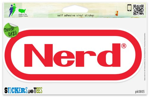 (Nerd Gamer Funny Vinyl Car Bumper Window Sticker 5
