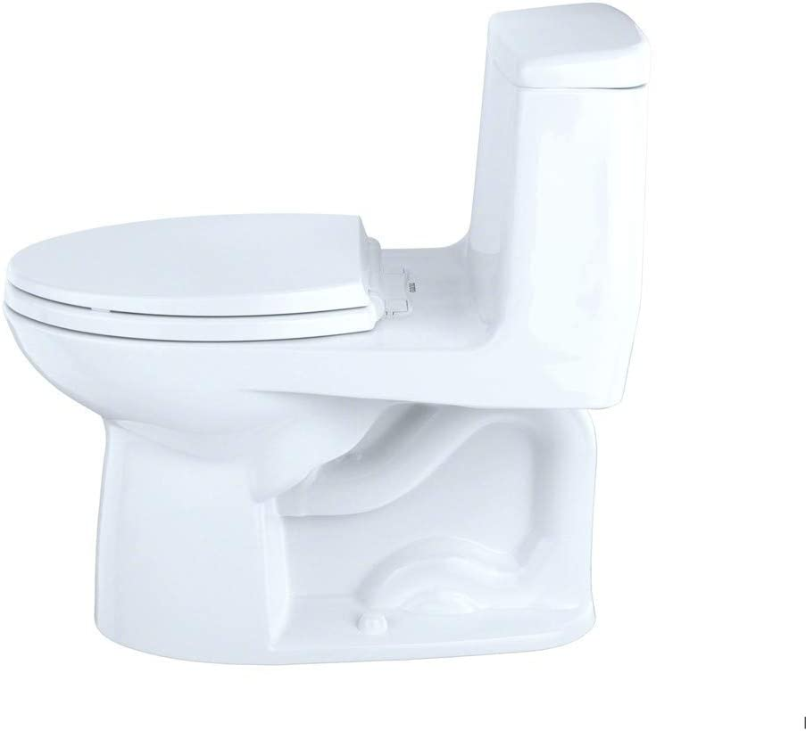 Toto Ms854114el 01 Eco Ultramax Ada Elongated One Piece Toilet Cotton White Amazon Com