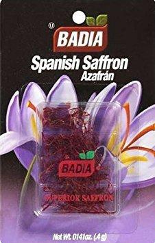 (Badia Spanish Saffron - Cello 0.4 gm (Pack of 12))