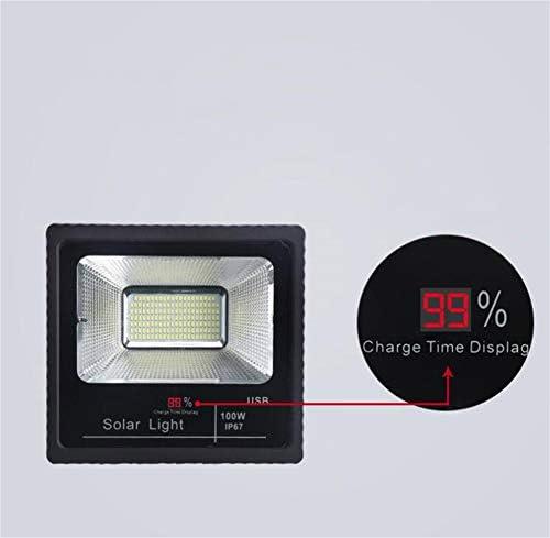 H-XH Solar Foco Proyector LED,Proyector De Seguridad De Iluminación De Patio De Inducción Inteligente Impermeable IP65: Amazon.es: Hogar
